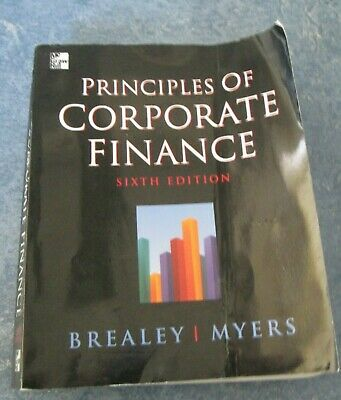 £5 • Buy  Principles Of Corporate Finance By Stewart C. Myers, Richard A. Brealey (Paperb