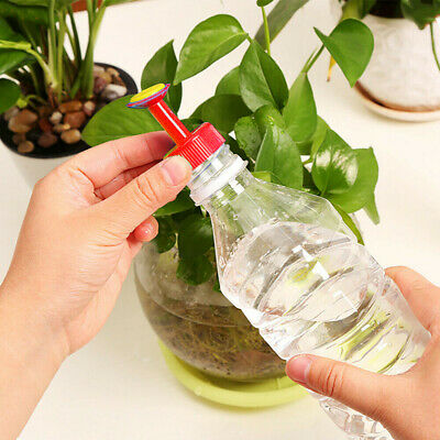 £2.99 • Buy 4 Pcs Plastic Sprinkler Nozzle Flower Waterers Bottle Plant Spray Potted Tools