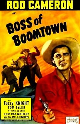 £5.42 • Buy Boss Of Boomtown : 1944 : Dvd-r : Starring : Rod Cameron/fuzzy Knight : Rare