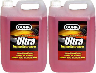 £15.95 • Buy 2 X 5l Gunk Ultra Engine Degreaser Brush On Engines Machines Automotive Cleaner
