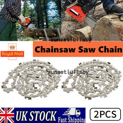 £8.96 • Buy NEW 2pcs 16inch 56 Drive Links Chainsaw Saw Chain Parts Tool Chainsaw Blade UK ✅