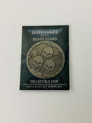 £19.99 • Buy Wahammer 40K, Death Guard Collectible Coin.