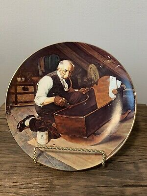 $ CDN49.97 • Buy Norman Rockwell Collector Plates Grandpas Gift Plate Number 19444