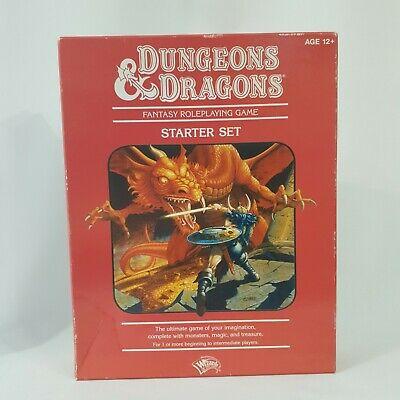 £31.79 • Buy Wizards Of The Coast - Dungeons & Dragons Starter Set - Red Box Set - Pre Owned