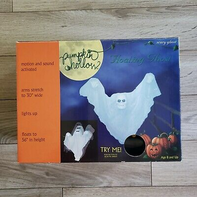 $ CDN123.26 • Buy *NEW* 2002 Floating Ghost Animated Halloween Decoration Prop Motion Activated