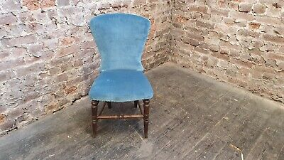 £95 • Buy Vintage Mahogany Victorian Chair Upholstered VGC Bedroom Hallway Occasional