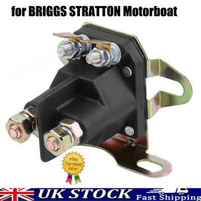 £7.96 • Buy 4-pole Starter Solenoid Relay For BRIGGS STRATTON Motorboat Lawn Mower Universal