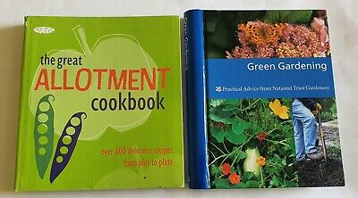 £14.99 • Buy Two Books Allotment Cookbook Green Gardening Practical Advice