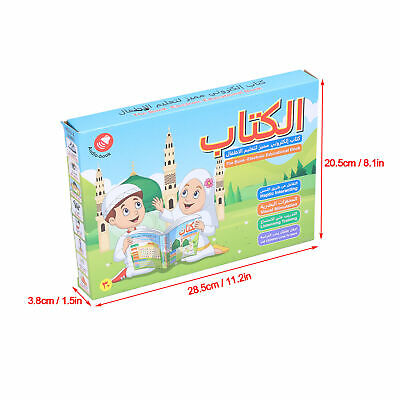 AU30.78 • Buy Children Voice Reading Book For Arabic English Learning Kids Educational Fun Toy