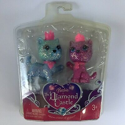 £14.49 • Buy Barbie & The Diamond Castle Cats Gift Set New In Package A Litter Of Glitter
