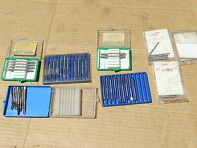 £10.97 • Buy Watchmakers & Machinists Gesswein Borazon Pins Hypro Taps Clean Nos Lot