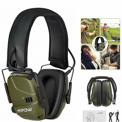 £29.89 • Buy MPOW Electronic Ear Defenders Shooting Protector Earmuffs Active Noise Reduction