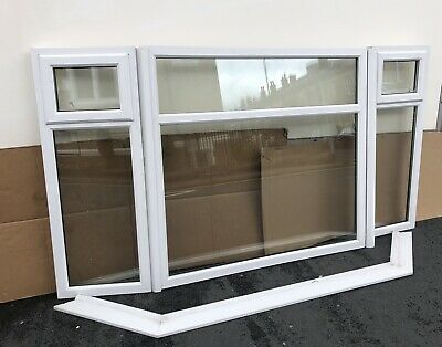 £119 • Buy Super White Upvc BIG Bay Window Complete  In Great Used Condition REDUCED SALE