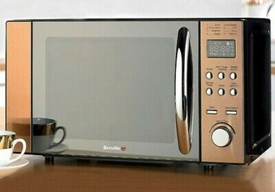 £97.90 • Buy Breville 800W Bronze Microwave-11 Power Levels-LED Display-stylish Finish New