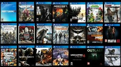 $ CDN8.49 • Buy Ps4 Games | Free Ship | Buy More, Save More; You Decide Which Ones You Want