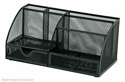 £18.99 • Buy OSCO TS-120373 Mesh Large Desk Organiser, Scratch-Resistant With Non-Marking