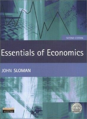 £3.59 • Buy Essentials Of Economics, 2nd Ed. By Sloman, Mr John Paperback Book The Cheap