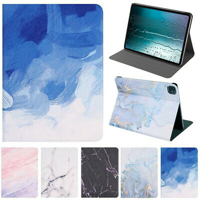 AU19.89 • Buy For IPad 5/6/7/8/9th Pro 11 Air 3 2 1 Mini Marble Leather Stand Smart Case Cover