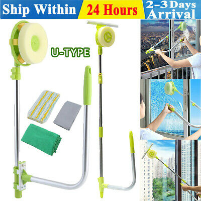 £22.10 • Buy High Building Magnetic Window Cleaner Tool Double Glazing Windows Glass Cleaning