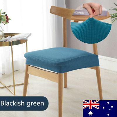 AU22.63 • Buy 4/8PCS Dining Chair Covers Kitchen Home Seat Cover Stretch Removable Slipcover