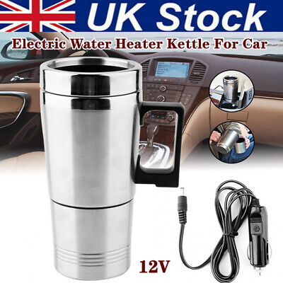 £14.75 • Buy Water Heater Coffee Mug Car Electric Travel Kettle Cigarette Lighter Heating Cup