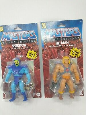 $32 • Buy Mattel Collectible - Masters Of The Universe Origins 5.5  He-Man And Skeletor