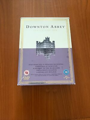 £10.99 • Buy Downtown Abbey Dvd Set Series 1-6 (one Disc Missing)
