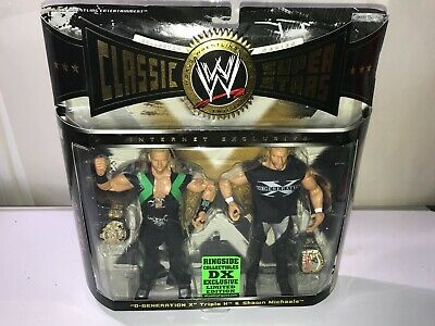£159.98 • Buy Wwe Classic Superstars Ringside Exclusive Dx Wwf 2pack Shawn Michaels Triple H