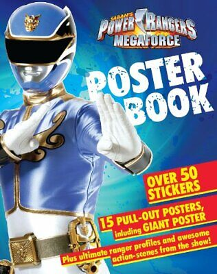 £5.99 • Buy Power Rangers Poster Book By Saban Book The Cheap Fast Free Post