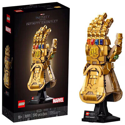 AU162.99 • Buy *IN STOCK* LEGO Marvel Super Heroes Infinity Gauntlet Thanos Kid Toy Gift 76191