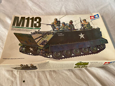 $28 • Buy Tamiya US M113 Armoured Personnel Carrier CA140 1:35 Scale Model Kit 35040