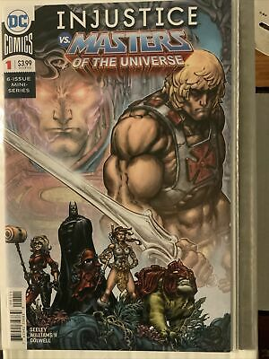 $50 • Buy Injustice Vs Masters Of The Universe 1-6. VF/NM. Complete Crossover