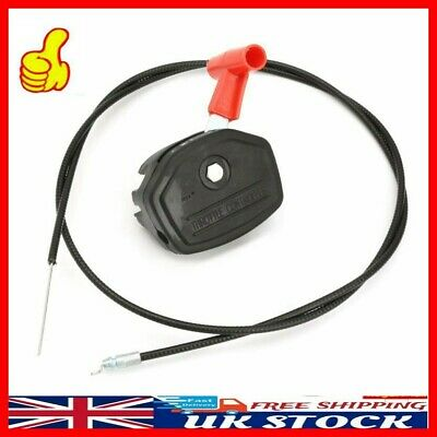 £9.99 • Buy 56 Inch Alloy Throttle Cable & Choke Lever Lawnmower Lawn Mower Accessories