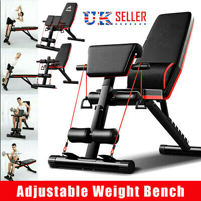£57.99 • Buy Folding Adjustable Weight Bench Multi-functional Home Gym Exercise Fitness Bench