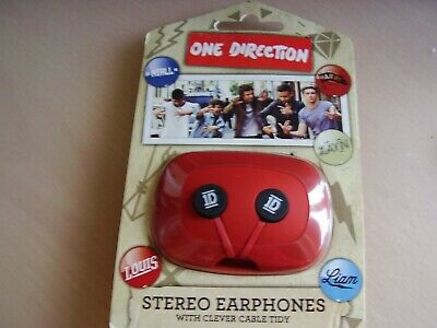 £5 • Buy One Direction  Global Sterio Earphones ~ With Clever Cable Tidy ~ New In Pack