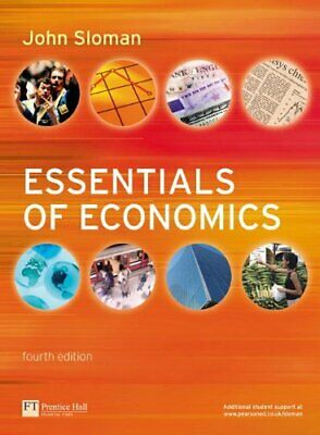 £37.99 • Buy Essentials Of Economics With MyEconLab By Sloman, Mr John Mixed Media Product