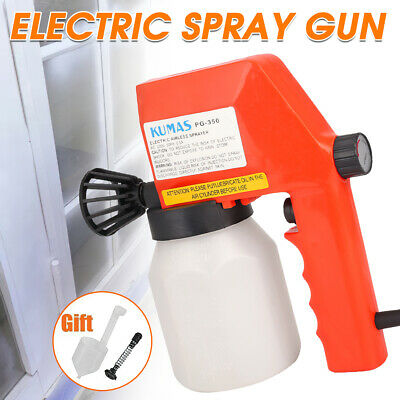 £20.99 • Buy Electric Paint Sprayer Airless Handheld Spray Gun Wall Fence Furniture Painting