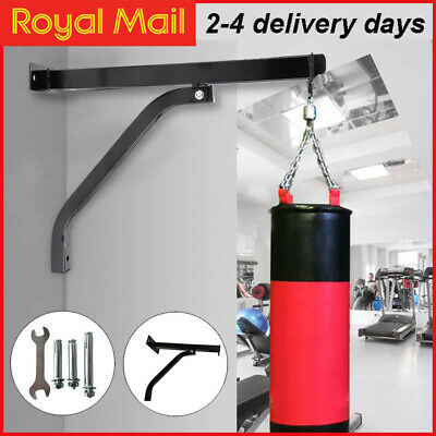 £13.25 • Buy Wall Bracket Punch Bag Heavy Duty Boxing MMA Bag Steel Wall Mount Hanging Stand