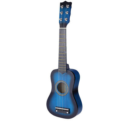£13.09 • Buy 25blue Childrens Kids Wooden Acoustic Guitar Musical Instrument Gift Child Toy