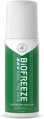 £9.99 • Buy Biofreeze Roll-On Pain Relief Sore Muscle Arthritis Sore Joint 89ml Roll On