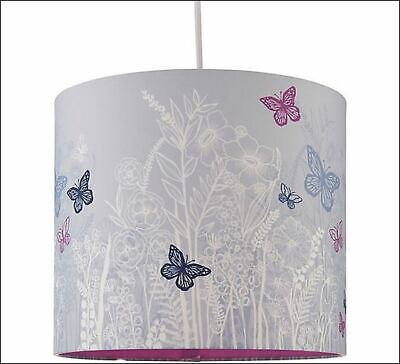 £9.99 • Buy Easy Fit Butterfly Lamp Shade Table Lamp And Ceiling Pendant Kids Children's