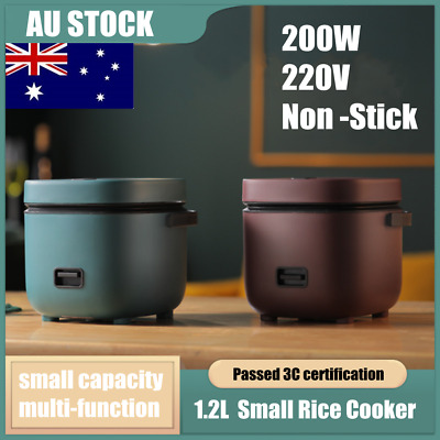AU46.52 • Buy Electric Rice Cooker 1.2L Portable Mini Small Rice Cook 3 Cups For 1-2 Person AU