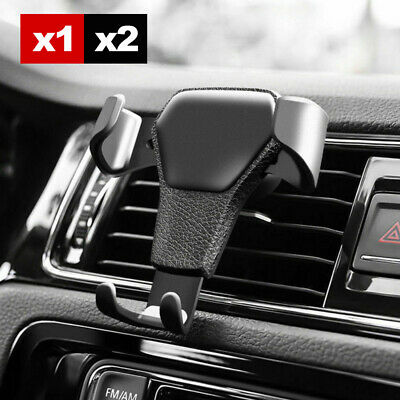 AU8.49 • Buy Universal Car Cradle Air Vent Mount Holder Stand For Smart Mobile Phone