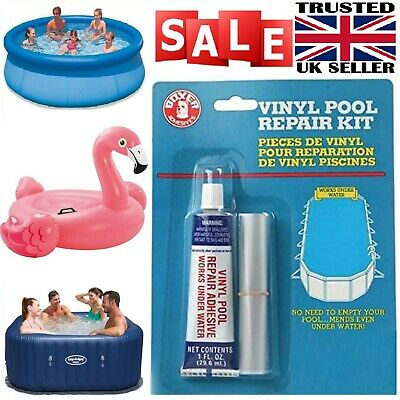 £8.97 • Buy Vinyl Repair Kit For Hot Tubs Inflatable Spa Above Ground Pools For Lay-Z-Spa UK