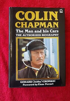 £36 • Buy Colin Chapman The Man And His Cars Autobiography By Gerald Crombac First