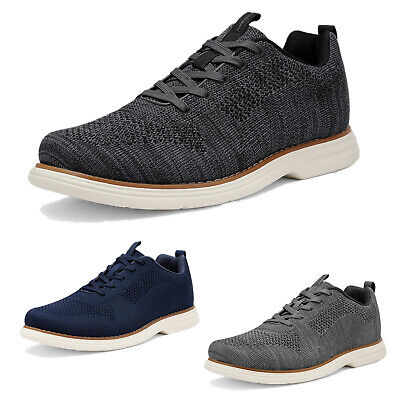 $16.60 • Buy Mens Athletic Shoes Lace Up Fashion Sneakers Knit Comfort Walking Shoes
