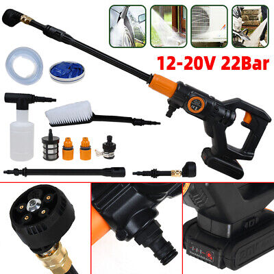 £59.99 • Buy 20V Portable Cordless Electric Pressure Washer Water Jet Wash Patio Car Cleaner
