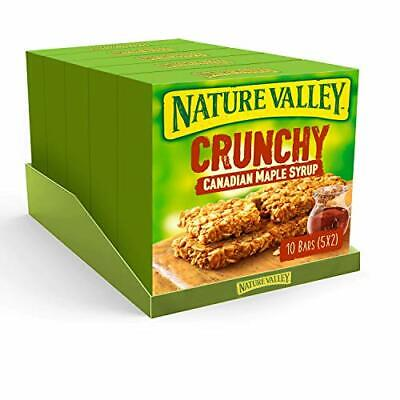 £15.58 • Buy Crunchy Canadian Maple Syrup Cereal Bars 5x 42g (Pack Of 5, Total