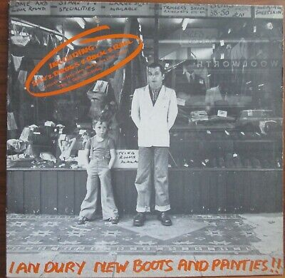 $ CDN10.13 • Buy Lp-  Ian Dury = New Boots And Panties ! - Incl. Sex & Drugs & Rock & Roll - 1977
