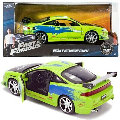 AU57.99 • Buy Fast And Furious - Mitsubishi Eclipse 1:24 Scale Hollywood Ride